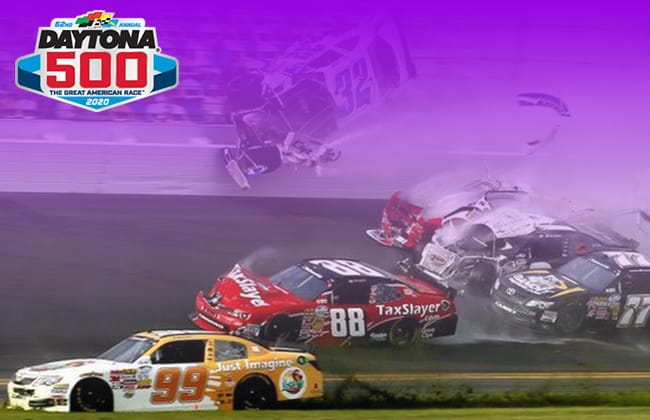 The Big Daytona 500 Crash in History